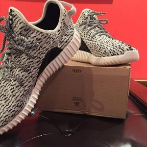 Men's Adidas Yeezy Boost 350 - Turtle Dove